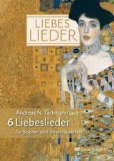 Liebes Lieder Partition Musique de chambre vocale - laflutedepan.com