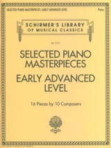 Selected Piano Masterpieces. Early Advanced Level laflutedepan.com