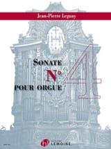 Sonate pour orgue n° 4 Jean-Pierre Leguay Partition laflutedepan.com