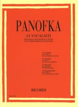 24 vocalises op. 81 Soprano, mezzo-soprano et ténor laflutedepan