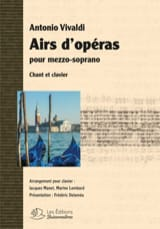 VIVALDI - Opera tunes for mezzo-soprano - Sheet Music - di-arezzo.co.uk