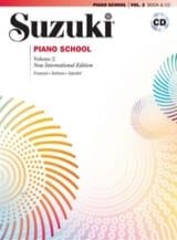 Suzuki Piano School Volume 2 (Français) avec CD laflutedepan.com
