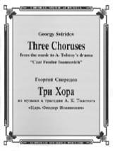 3 Choeurs russes pour la tragédie de Tolstoi laflutedepan.com