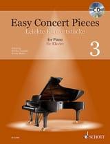Easy Concert Pieces Volume 3 Partition Piano - laflutedepan.com