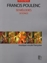 Francis Poulenc - 50 melodies. Aloud - Sheet Music - di-arezzo.co.uk