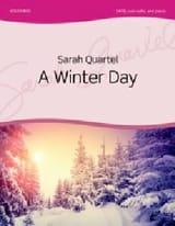 Sarah Quartel - A Winter Day - Partition - di-arezzo.fr
