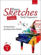 Vitalij Neugasimov - Piano Sketches Volume 1. 4 mains - Partition - di-arezzo.fr