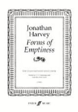 Jonathan Harvey - Forms of Emptiness - Partition - di-arezzo.fr