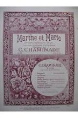 Cécile Chaminade - Marthe et Marie op. 64 n° 4 - Partition - di-arezzo.fr