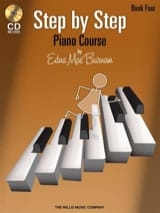 Edna-Mae Burnam - Step by Step Piano Course vol.4 + CD - Partition - di-arezzo.fr
