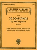 35 Sonatines - Compositeurs Divers - Partition - laflutedepan.com