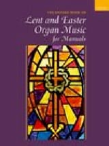 Divers - The Oxford Book of Lent and Easter Organ Music for Manuals - Partition - di-arezzo.fr