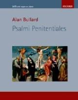 Alan Bullard - Psalmi Penitentiales - Partition - di-arezzo.fr
