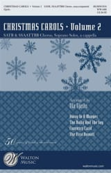 Christmas Carols Volume 2 Partition Chœur - laflutedepan.com
