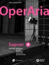 OperAria Soprano - Volume 4 Partition Recueils - laflutedepan.com