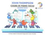 Cours de Piano Facile. Volume 2 John Thompson Partition laflutedepan