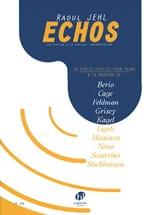 Echos JEHL Raoul Partition Piano - laflutedepan.com