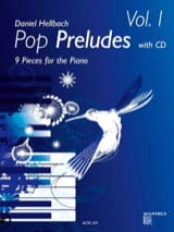 Daniel Hellbach - Pop Préludes vol.1 avec CD - Partition - di-arezzo.fr