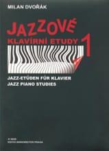 Jazz Studies Volume 1 Milan Dvorak Partition Piano - laflutedepan.com