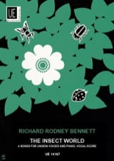 Richard Rodney Bennett - The Insect world - Partition - di-arezzo.fr