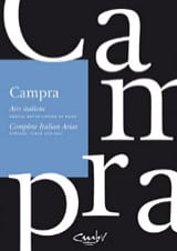 André Campra - Italian airs - Sheet Music - di-arezzo.com