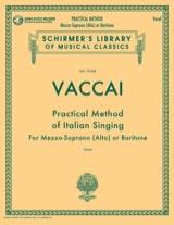 Nicola Vaccai - Practical Method of Italian Singing. Average voice - Sheet Music - di-arezzo.com