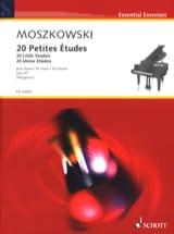 20 Petites Etudes Opus 91 Moritz Moszkowski Partition laflutedepan.com