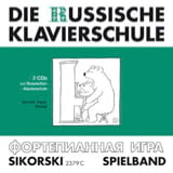 Die russische klavierschule 2 CD Divers Partition laflutedepan