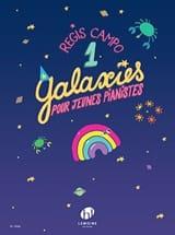 Régis Campo - Galaxies 1 - Partition - di-arezzo.fr