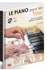 ASTIE Christophe - The Piano for 9 - 15 years old. Volume 2 - Sheet Music - di-arezzo.co.uk