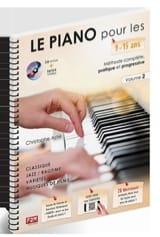 ASTIE Christophe - 9〜15歳のピアノ。第2巻 - 楽譜 - di-arezzo.jp