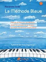 La Méthode Bleue Alexandre Sorel Partition Piano - laflutedepan.com