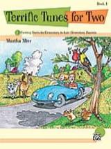 Terrific Tunes for Two Book 1 Martha Mier Partition laflutedepan.com