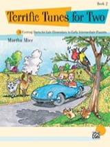 Terrific Tunes for Two Book 2 Martha Mier Partition laflutedepan.com