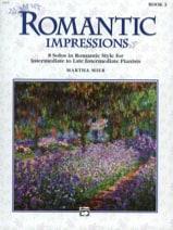 Martha Mier - Romantic Impressions, Book 3 - Sheet Music - di-arezzo.co.uk