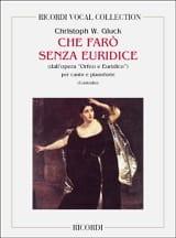 Christoph Willibald Gluck - Che Faro Senza Euridice. Orfeo e Euridice - Sheet Music - di-arezzo.co.uk