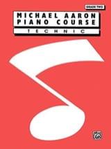 Piano Course Technic Grade 2 AARON Partition Piano - laflutedepan.com