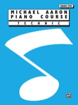 AARON - Piano Course - Technic - Volume 5 - Sheet Music - di-arezzo.co.uk