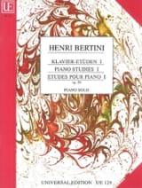 Etudes Pour Piano Volume 1 Opus 29 Henri Bertini laflutedepan