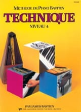Méthode de Piano Bastien - Technique Niveau 4 BASTIEN laflutedepan.com