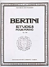 25 Etudes Pour Piano Opus 100 Henri Bertini Partition laflutedepan