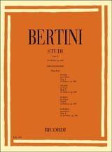25 Etudes Op. 100 Henri Bertini Partition Piano - laflutedepan.com