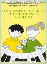 Thèmes Classiques et Traditionnels Célèbres Volume 1. 4 Mains laflutedepan.com