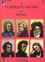 Classiques Favoris Volume 2  Partition Piano - laflutedepan.com