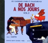 DE BACH A NOS JOURS - from Bach to our Days - Volume 2A - CD - Sheet Music - di-arezzo.com