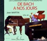 de Bach à nos Jours - Volume 4A - CD - laflutedepan.com