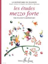 - Les Etudes Mezzo Forte - Partition - di-arezzo.fr