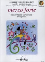 Mezzo Forte Partition Piano - laflutedepan.com