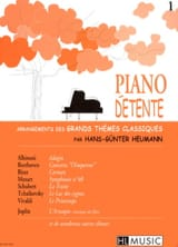 Piano Détente Volume 1 Partition Piano - laflutedepan.com