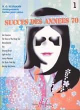 Succès Années 70 Volume 1 Partition Piano - laflutedepan.com